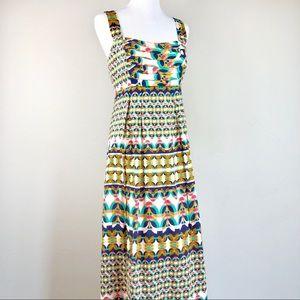 Antonio Melani Mixed Bohemian Maxi Dress